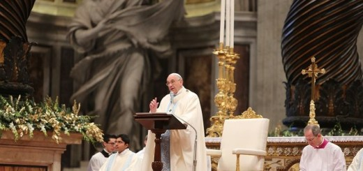 Pope_Francis_celebrates_New_Years_Day_Mass_for_the_Solemnity_of_Mary_the_Mother_of_God_on_Jan_1_2015_Credit_Bohumil_Petrik_CNA