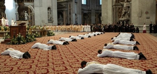 VATICAN-POPE-ORDINATION-PRIEST