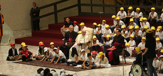 Encounter_13_with_Pope_Francis_in_the_Paul_VI_Hall_with_children_of_Rome_on_May_11_2015_Credit_Daniel_Ibanez_CNA_5_11_15