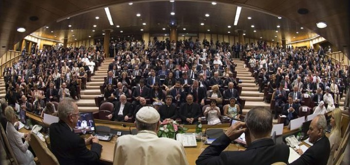 Pope_Francis_1_speaks_at_the_climate_change_and_modern_slavery_workshop_in_Rome_Italy_on_June_21_2015_Credit_LOsservatore_Romano_CNA_7_21_15