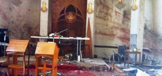 Damage-to-Our-Lady-of-Salvation-Syriac-Catholic-Church-in-Baghdad-Ankawa.com-photo