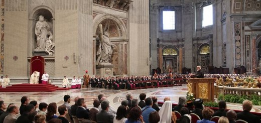 Pope_Francis_celebrates_World_Day_of_prayer_for_the_protection_of_creation_in_St_Peters_Basilica_on_Sept_1_2015_Credit_Daniel_Ibez_CNA_9_1_15
