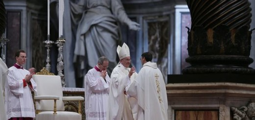 Pope_Francis_greets_newly_ordained_priests_during_papal_ordination_in_St_Peters_Basilica_on_April_26_2015_Credit_Bohumil_Petrik_CNA_4_26_15