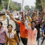 Dalits protest
