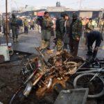 Terrorist bombing at Pathankot Airbase