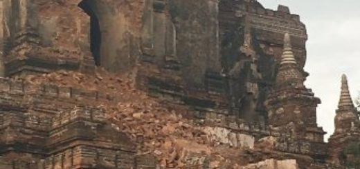 Devastation in Myanmar 24 August earthquake