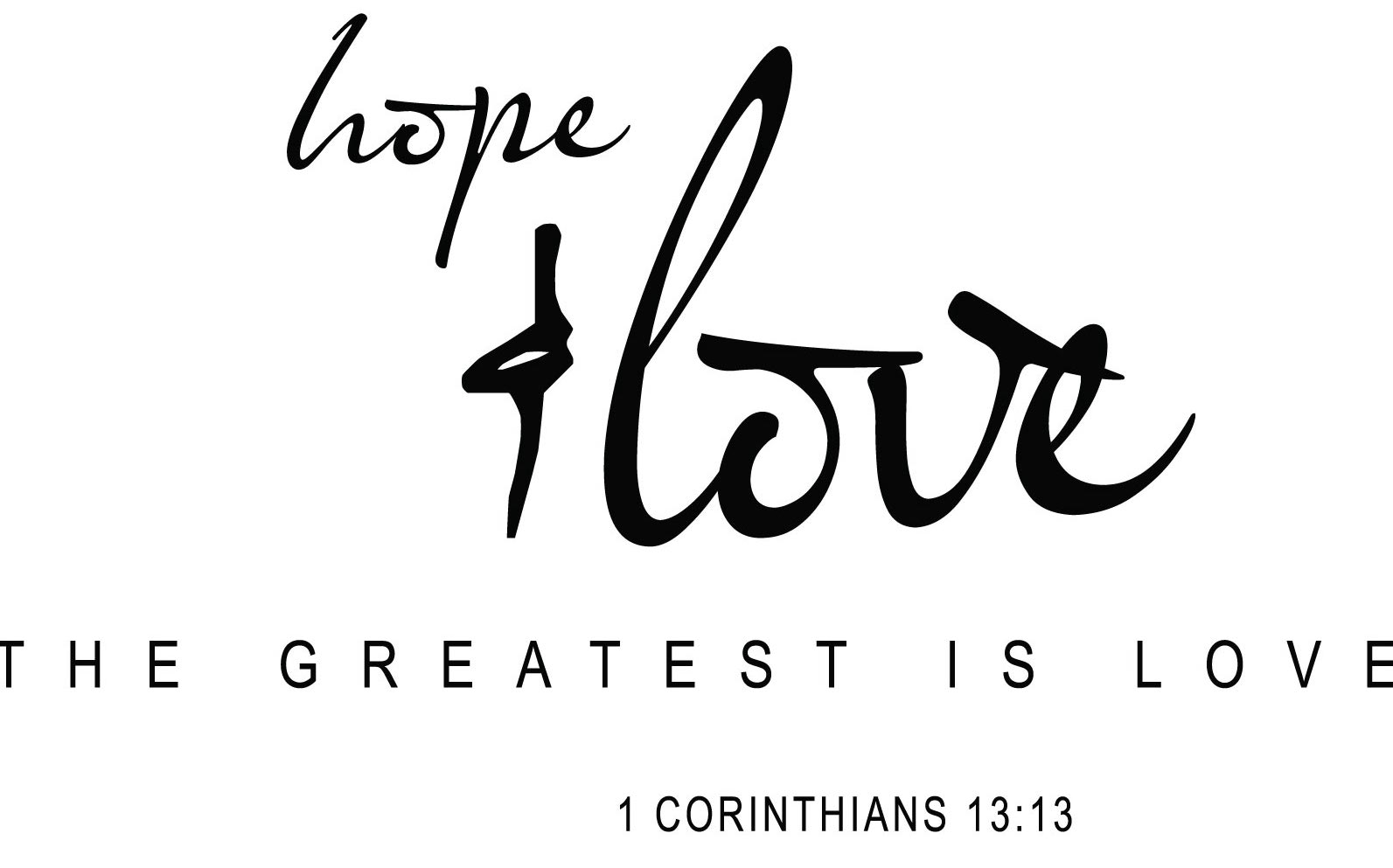 Love Faith Hope Quotes A New Theology Of Hope And Love  Church Citizens' Voice