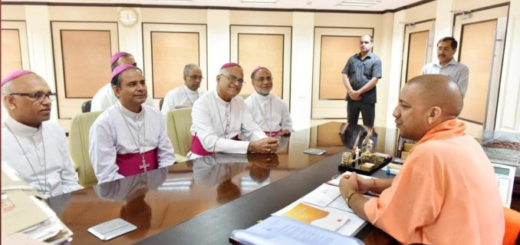 Bishops meet UP CM Yogi