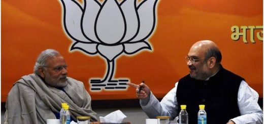 Modi with Amit Shah