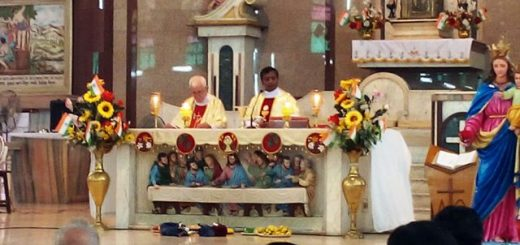 Independence Day 2017 Mass at Auxilium Parish Kolkata