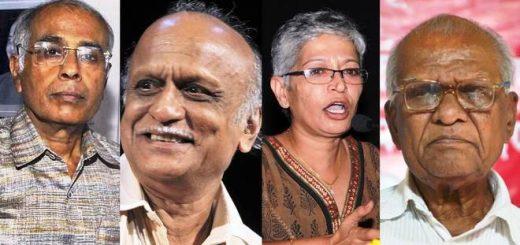 Dabholkar Pansare Gauri Kalburgi