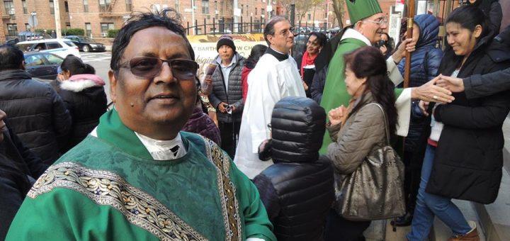 Fr Sunil at Brooklyn Queens USA