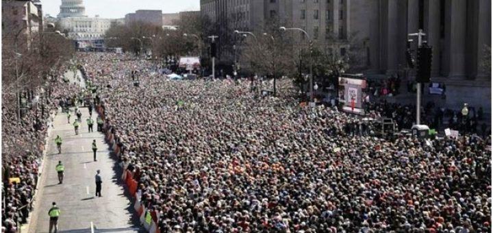 Gathering in Washington DC