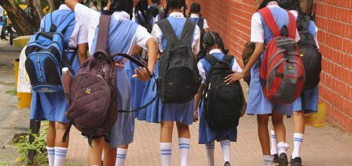 burden of school bags